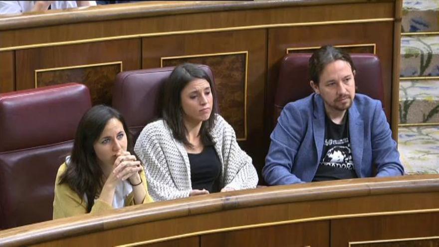 Discrepancias internas en Podemos por su discurso sobre Cataluña