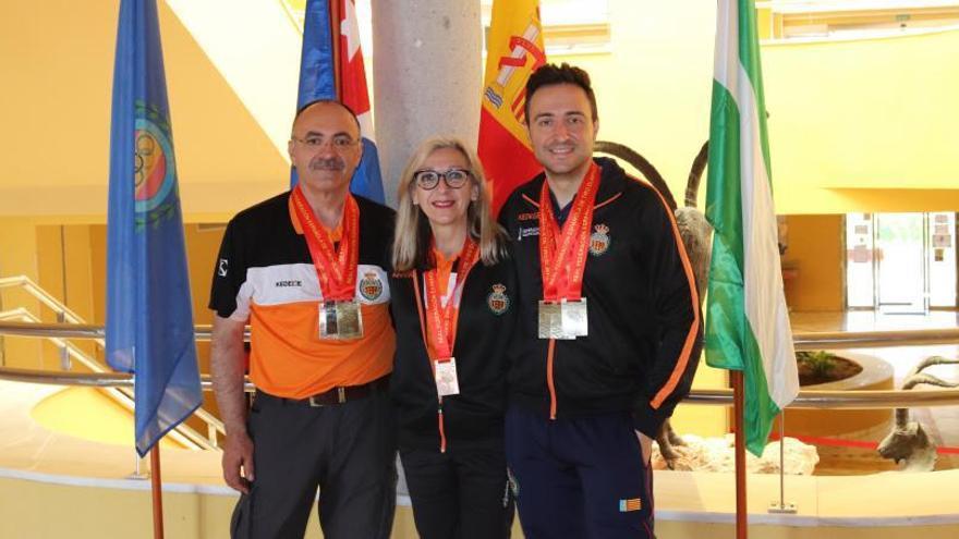 Los tiradores de Favara logran nueve medallas en el estatal de armas históricas