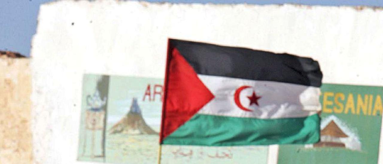 Dos niños saharauis en los campamentos de Tinduf. | | LP/DLP