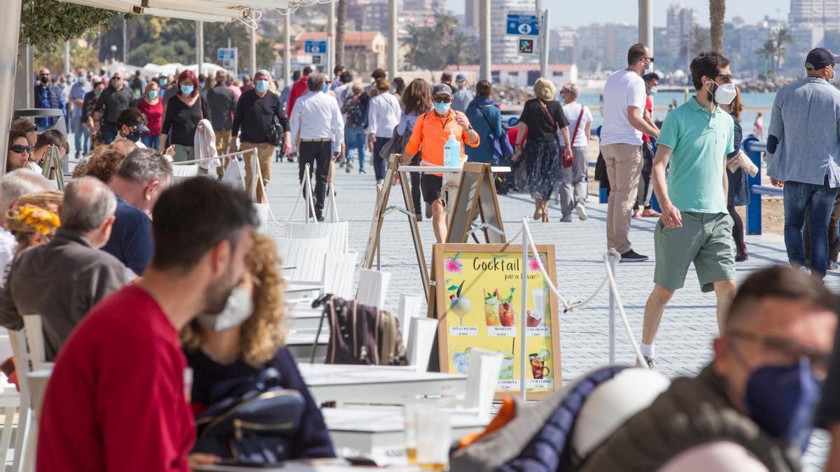 El número de contagios se encuentra estabilizado en la provincia de Alicante