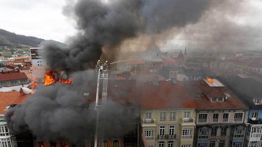 """La jueza concluye que la muerte del bombero de Uría se debió a """"su imprudencia temeraria"""""""