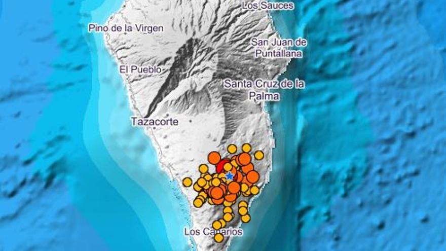 Registran un temblor de 4.4, el de mayor magnitud en la crisis volcánica