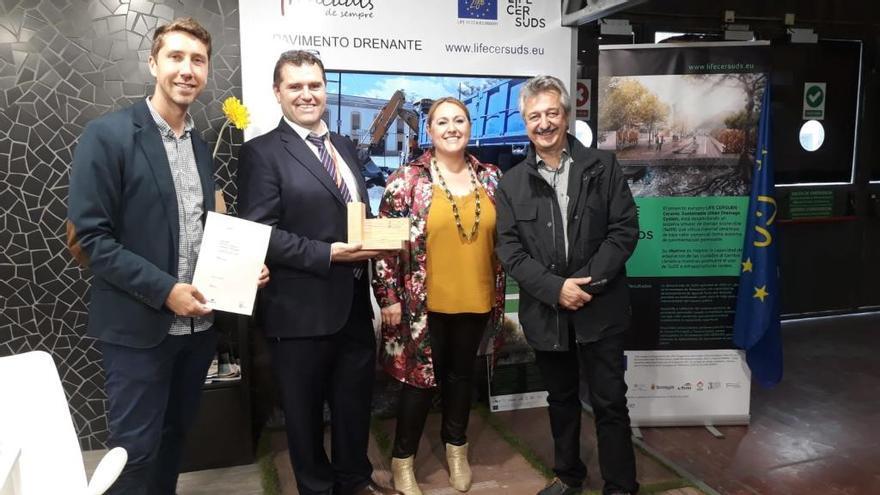 El proyecto «Life Cersuds» recibe premios en Barcelona y Lisboa