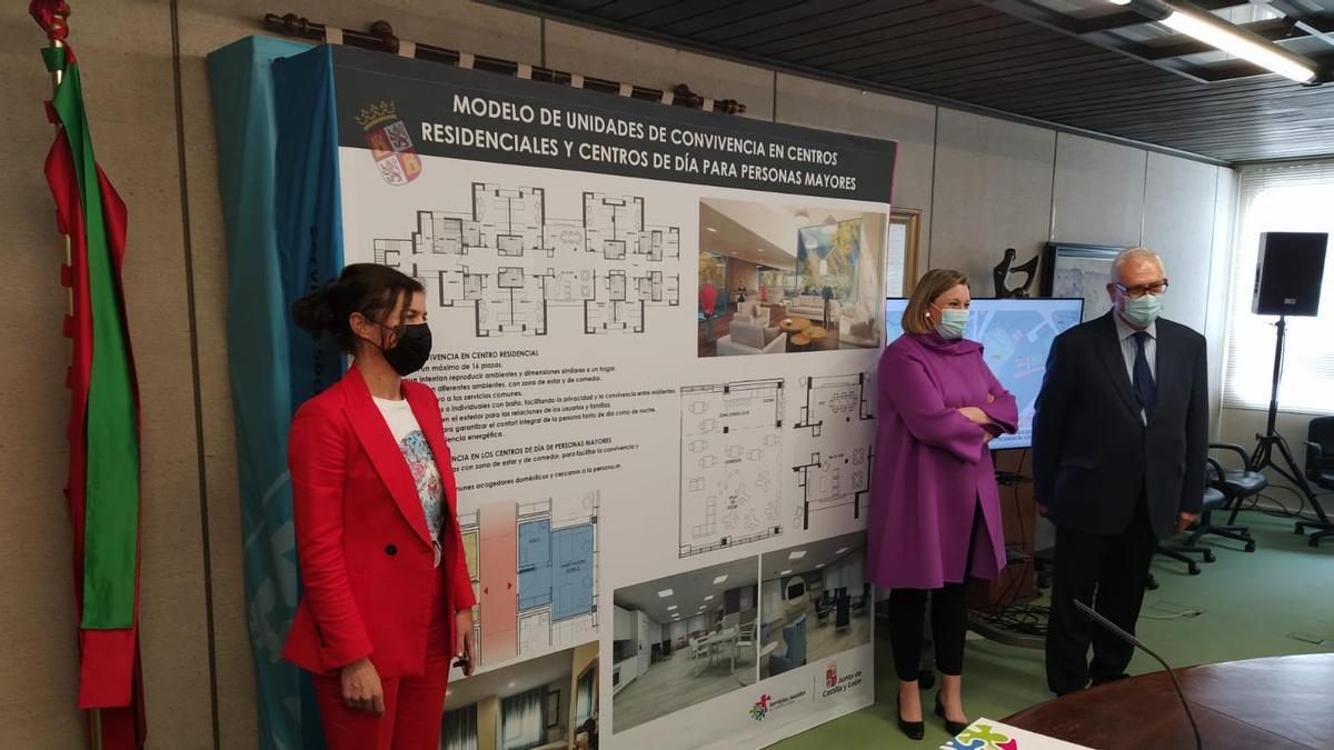 Presentación de la nueva residencia en Zamora.