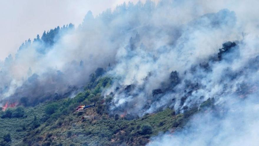 LaLiga rechaza suspender el partido entre Las Palmas y Huesca por el incendio de Gran Canaria