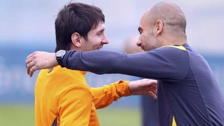¿Podrían Guardiola y Messi volver a unirse en el Manchester City?