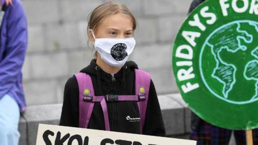 Greta Thunberg cumple 18 años como icono de la lucha contra el cambio climático