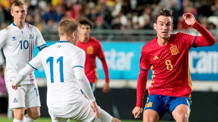 La selección española sub 21 sufre para ganar a Islandia