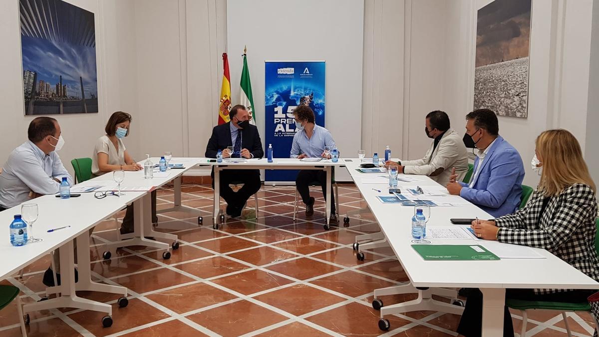 Reunión del Jurado Provincial de Málaga de los Premios Alas a la Internacionalización de la Empresa Andaluza