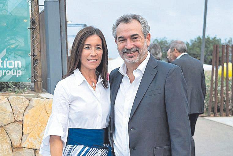 Mariana Chacón y Bernat Vidal.