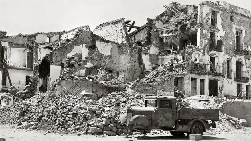 Benassal reclama daños al consulado alemán por los Bombardeos Stuka