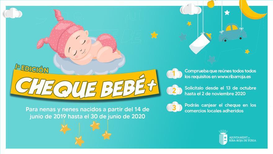 Riba-roja lanza el cheque bebé con 350 euros