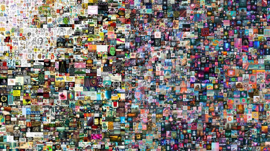Christie's vende su primera obra digital por más de 57 millones de euros