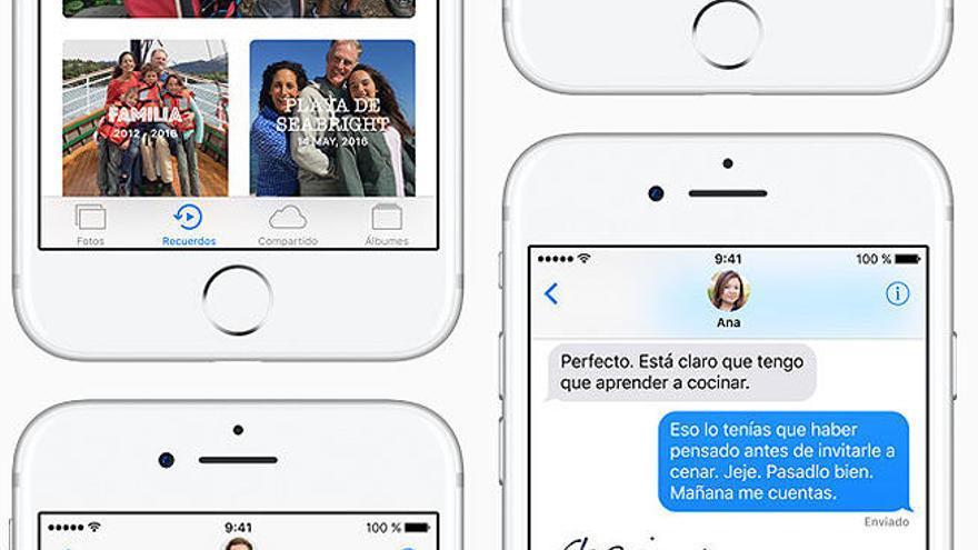 Las 10 claves del nuevo iOS 10