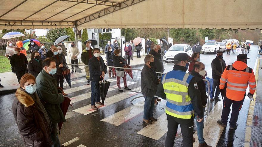 """La ciudad de Pontevedra, en seguimiento intensivo por su """"ligero empeoramiento"""""""
