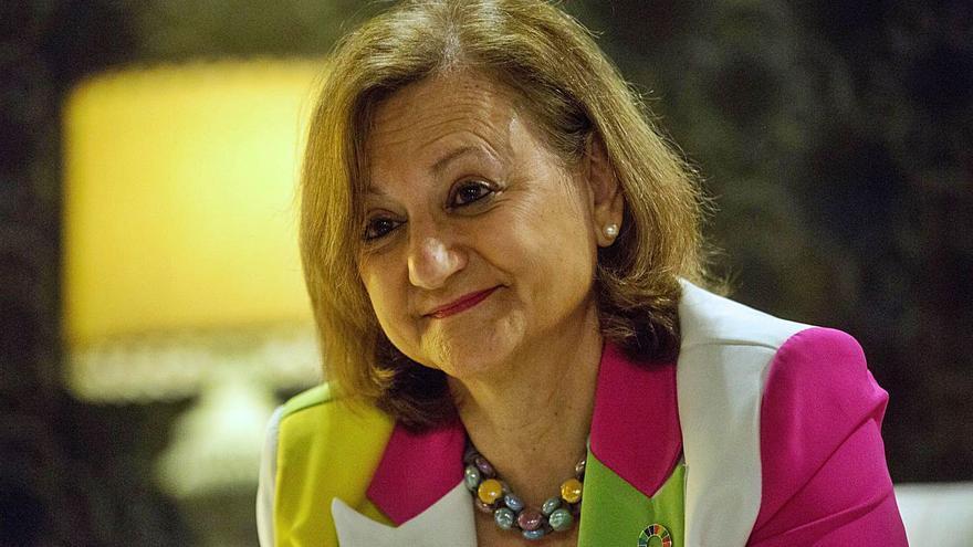 Cristina Gallach: «La crisis con Marruecos es un bache temporal»