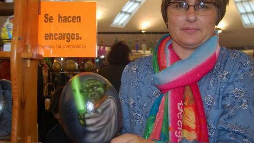 """Los Güevos Pintos, cada vez con más accesorios: """"Han de ser distintos y originales"""""""