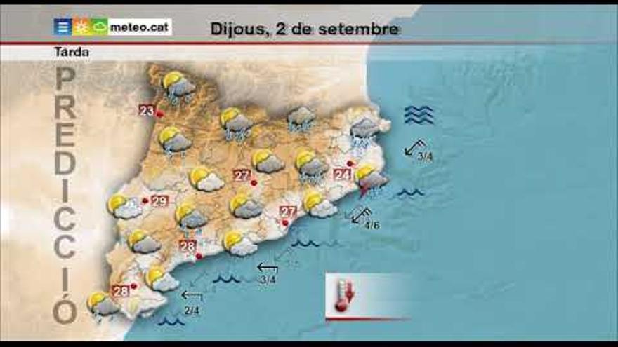 Catalunya manté l'alerta per inundacions mentre valora els danys a l'Ebre