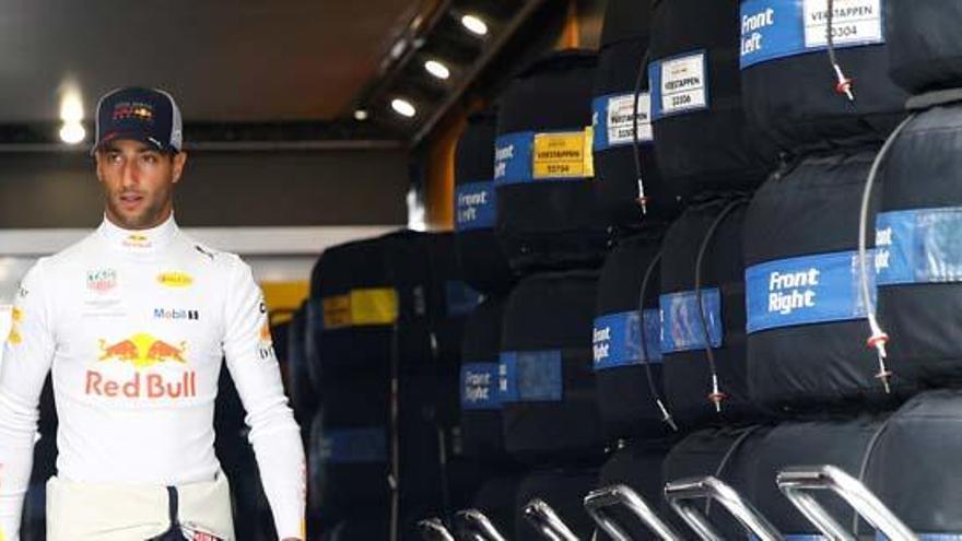 Ricciardo abandonará Red Bull al acabar la temporada
