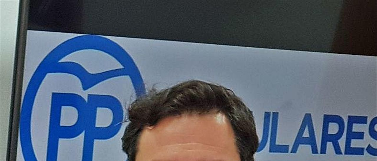 El portavoz popular, Fran Muñoz.