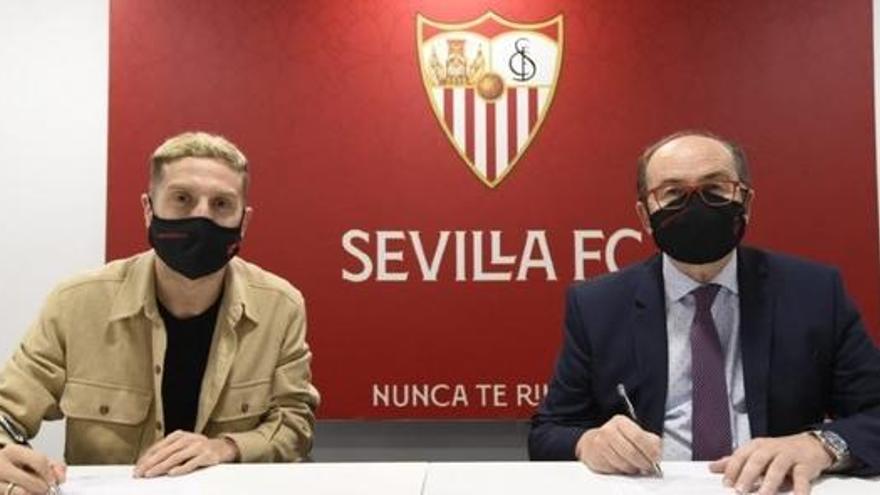 Papu Gómez, nuevo jugador del Sevilla hasta junio de 2024