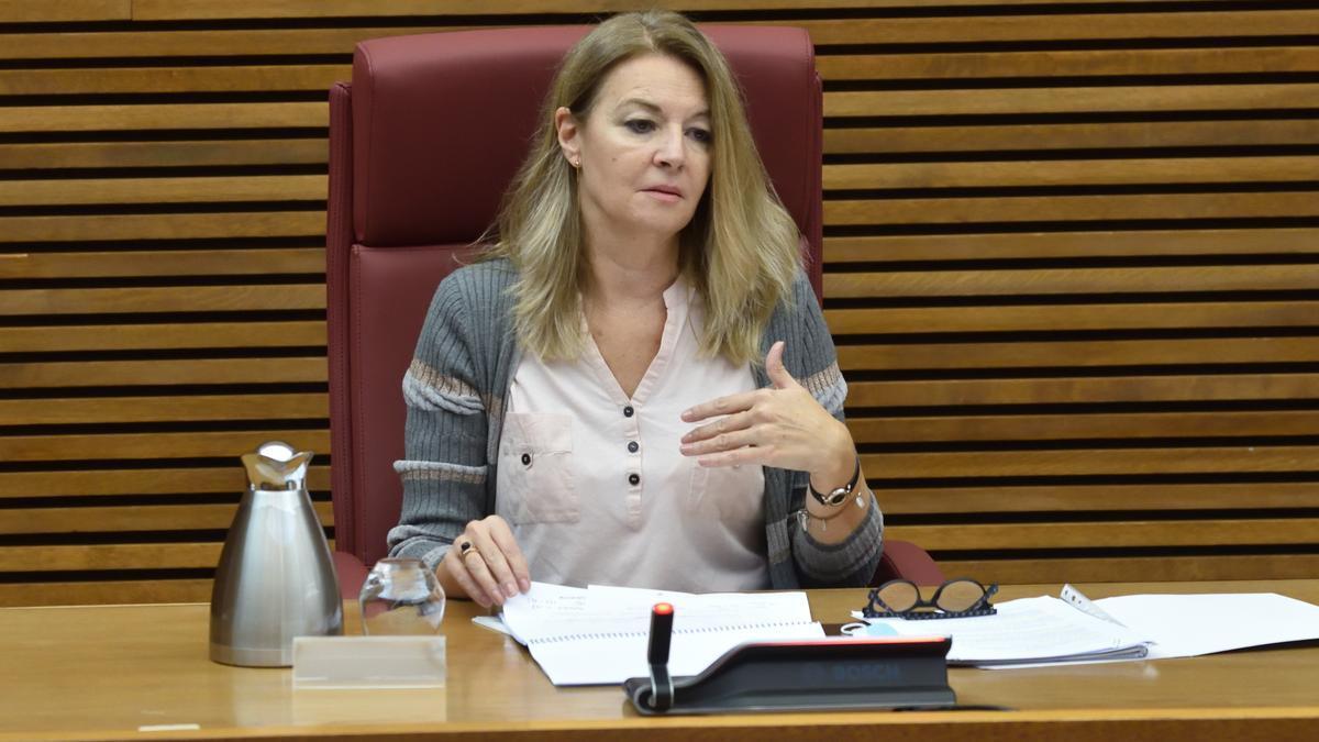 Comparecencia de la secretaria autonómica Concha Andrés