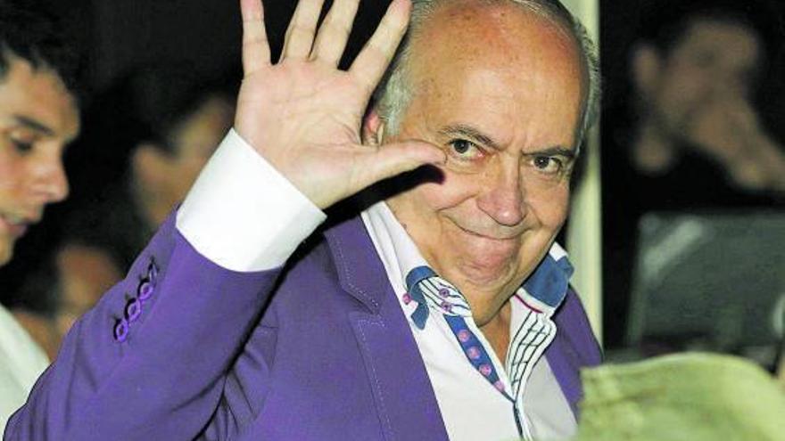 El productor José Luis Moreno, detenido por presunta estafa y blanqueo de capitales