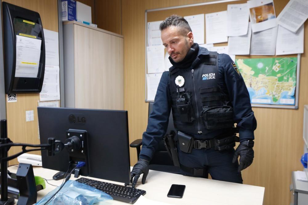 Guillermo Cruz, jefe de servicio de la Policía Local de Santa Eulària