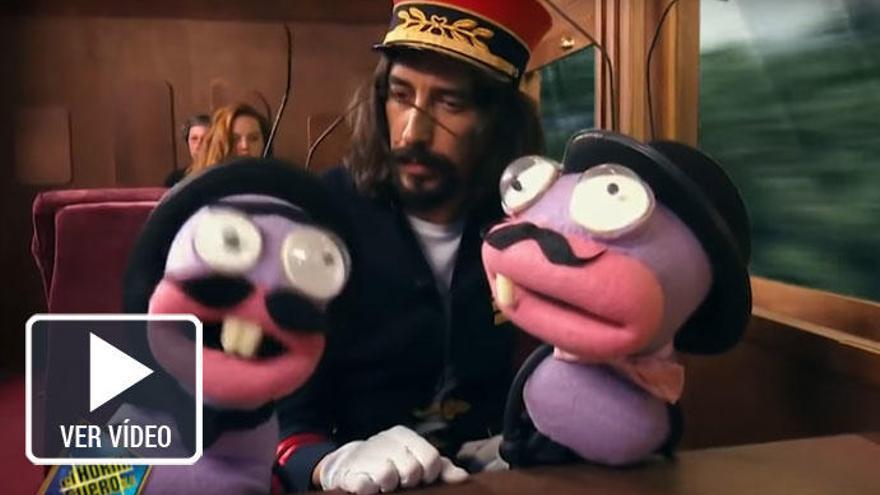 Así es la nueva 'película' de Pablo Motos: 'Asesinato en El Hormiguero Express'
