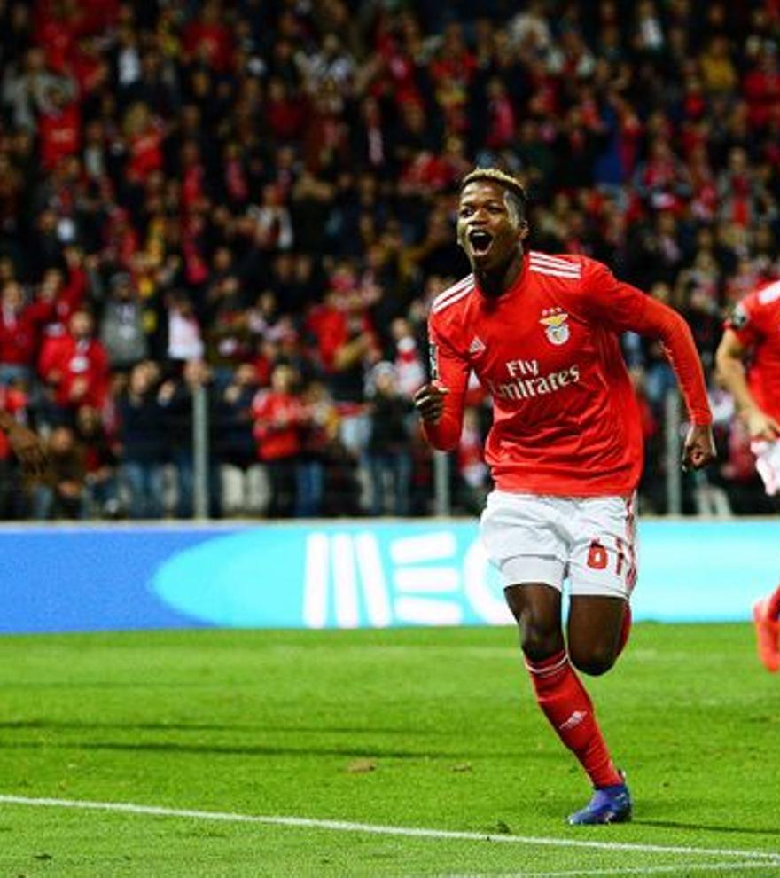 Florentino llega al Getafe cedido por el Benfica