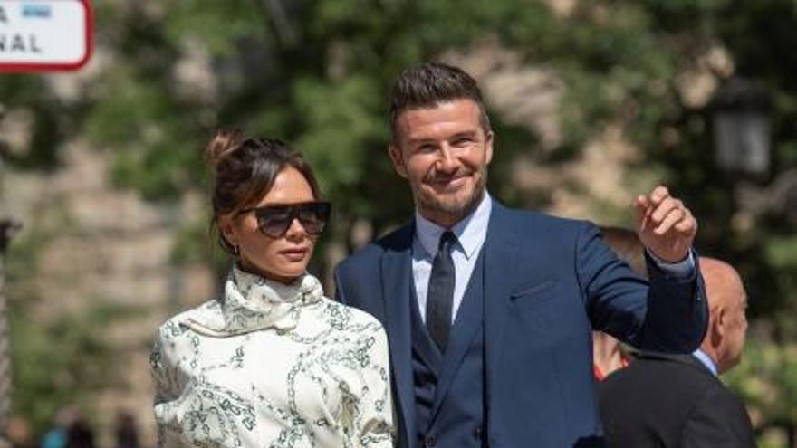 David Beckham y Victoria, los invitados más aclamados