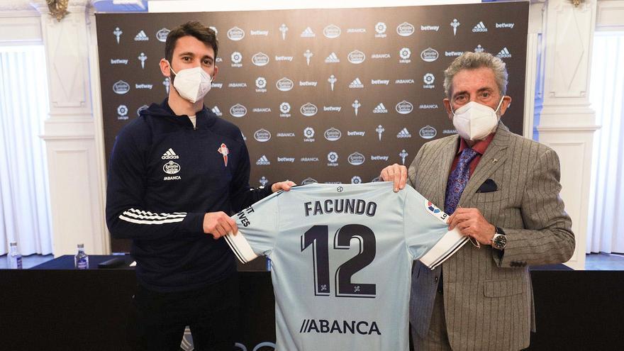 """Facundo Ferreyra: """"Si ayudo al Celta, me ayudaré a mí"""""""