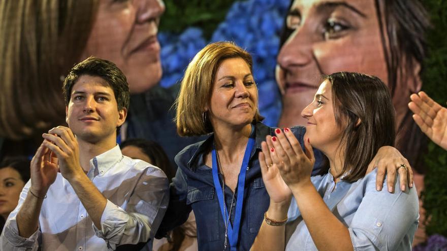 El concejal vigués Diego Gago, presidente de Nuevas Generaciones del PP