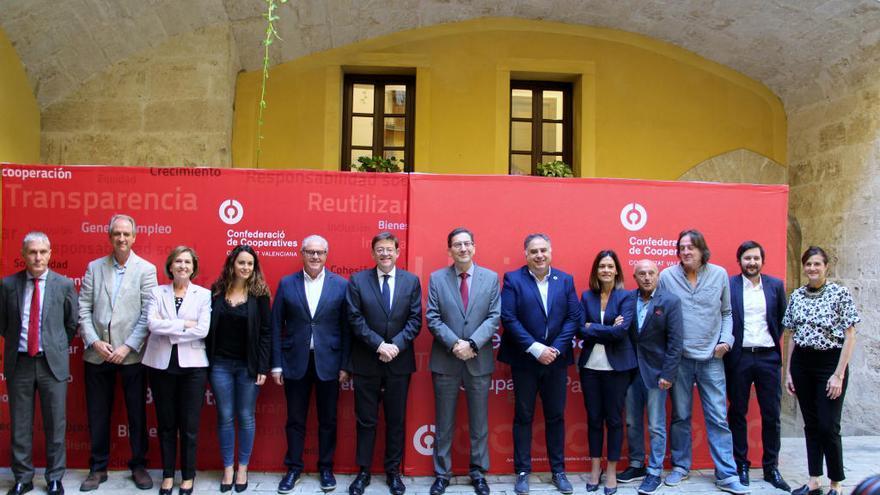Las cooperativas piden a Puig que se las incluya en el diálogo social