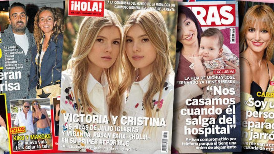 Las gemelas y rubias hijas de Julio Iglesias se ponen de moda
