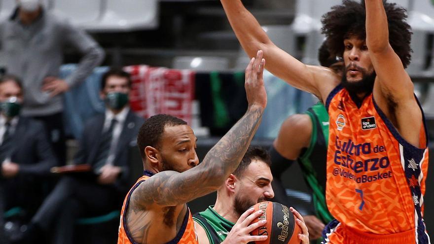 El Valencia Basket asalta el 'Olímpic' 5 años después