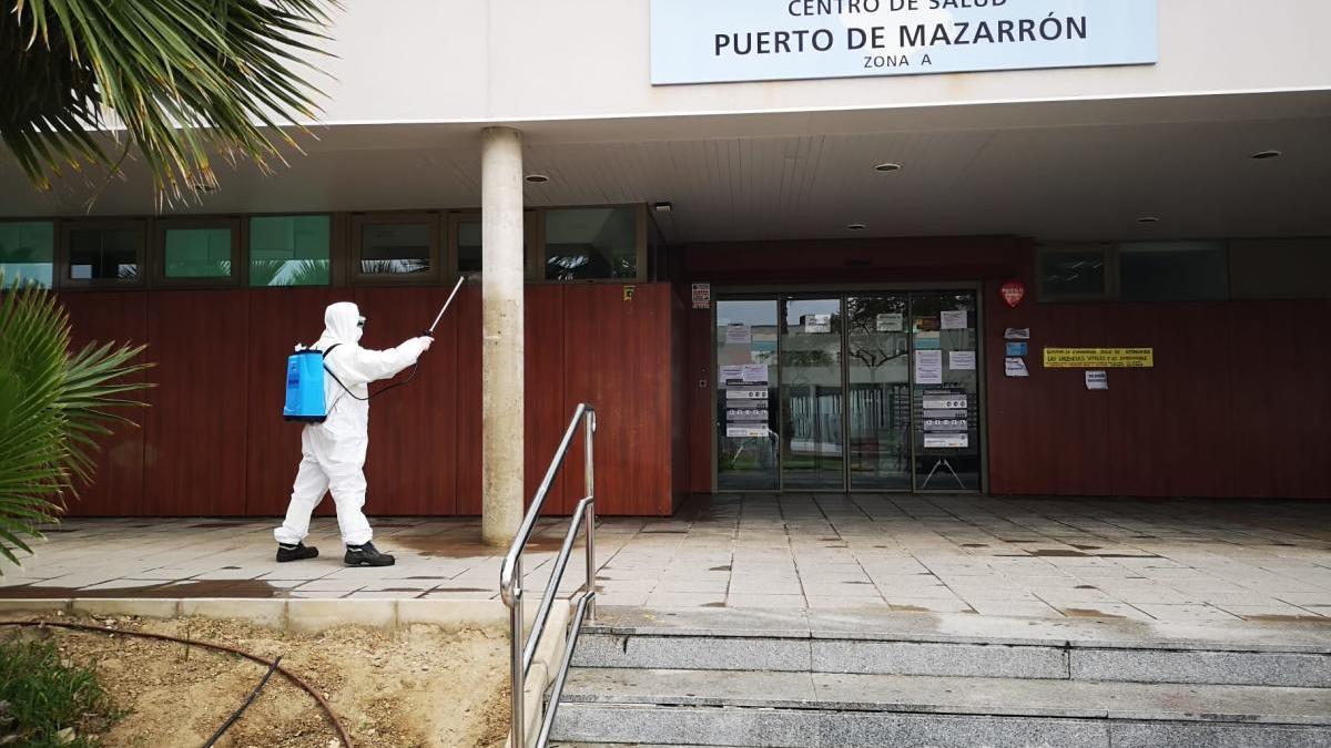 La tasa de PCR positiva en Puerto de Mazarrón es del 41'6%