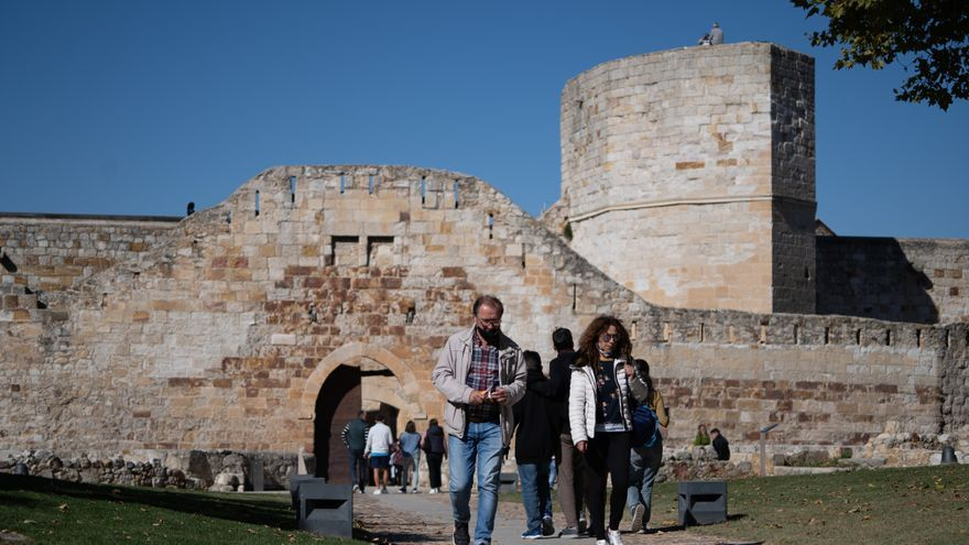 El PP afea el cierre del Castillo de Zamora el pasado 11 de octubre