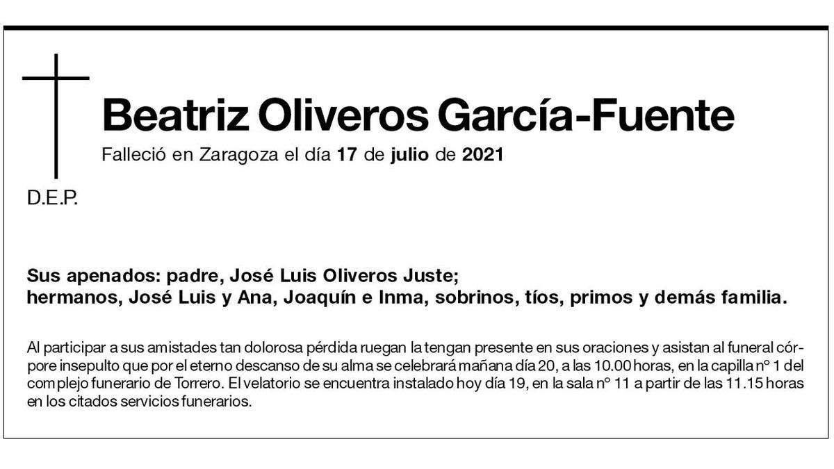Beatriz Oliveros García-Fuente