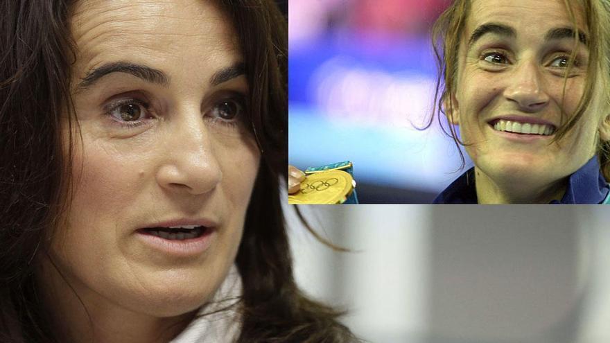 Isabel Fernández, del judo al gimnasio y al COE, pasando por la política
