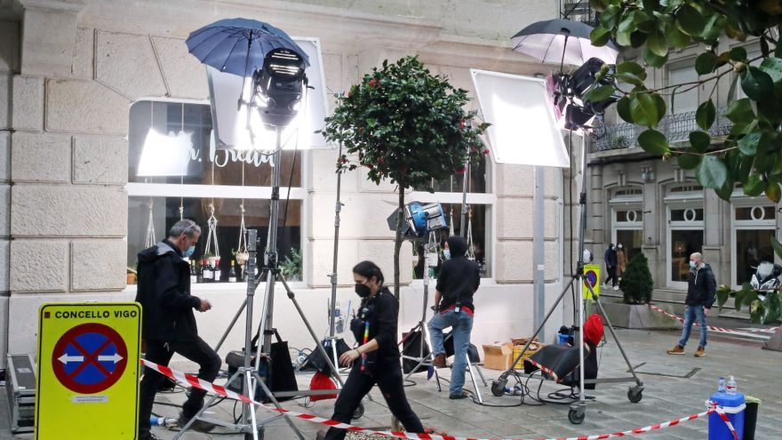 El filón vigués de las series cautiva a los medios extranjeros