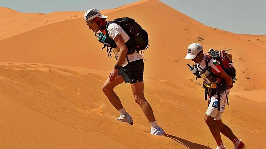 Llopis cumple su sueño en el Sahara