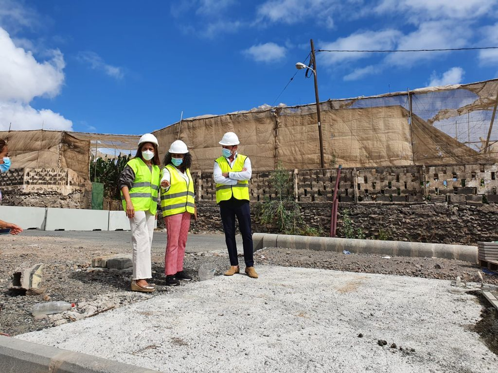 Lopean retoma las obras de la carretera de Melerana