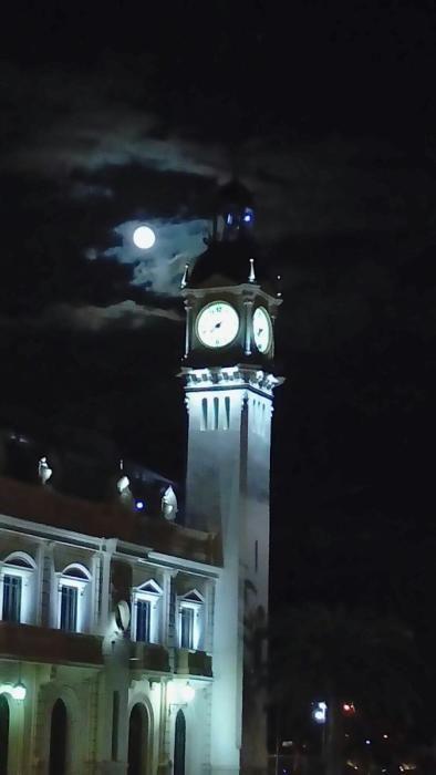 Así se vio la Superluna en la C. Valenciana