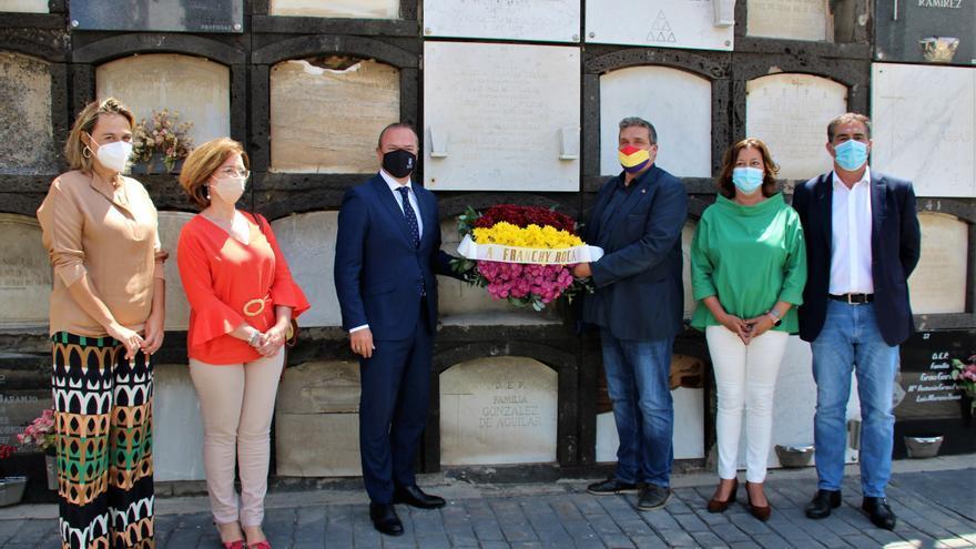 Homenaje a José Franchy Roca en el 90º aniversario de la proclamación de la II República