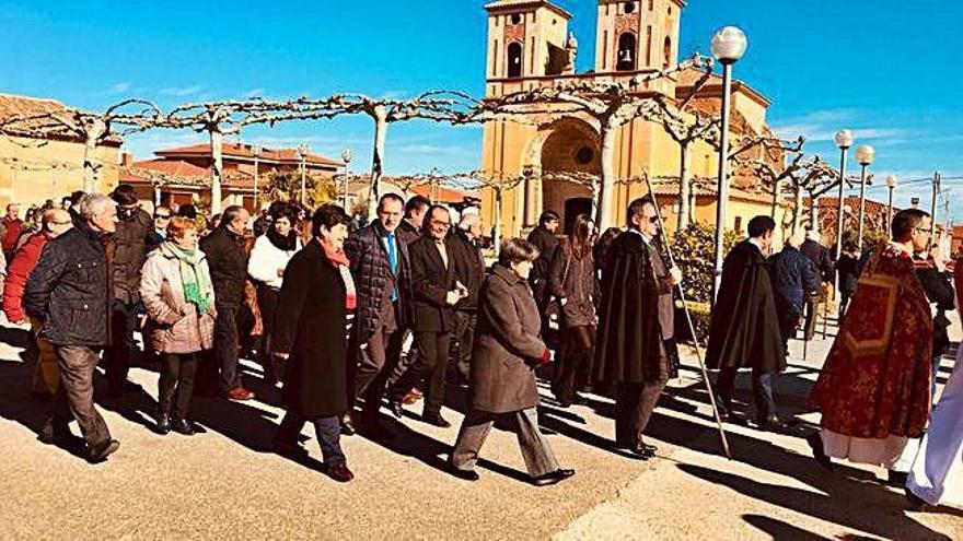 Procesión de San Blas en Villalazán.