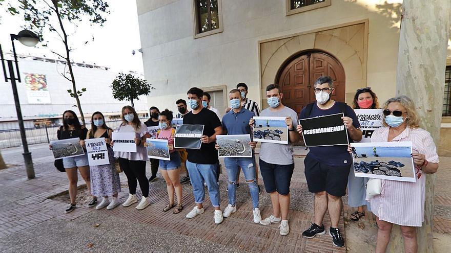 """Protesta en San Esteban por el """"ecocidio"""""""