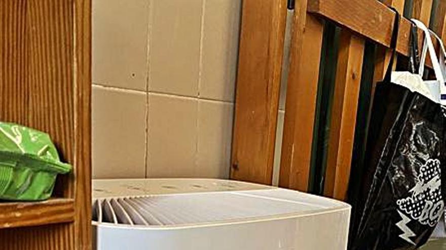 Carcaixent instala 11 purificadores de aire en la Escoleta Infantil