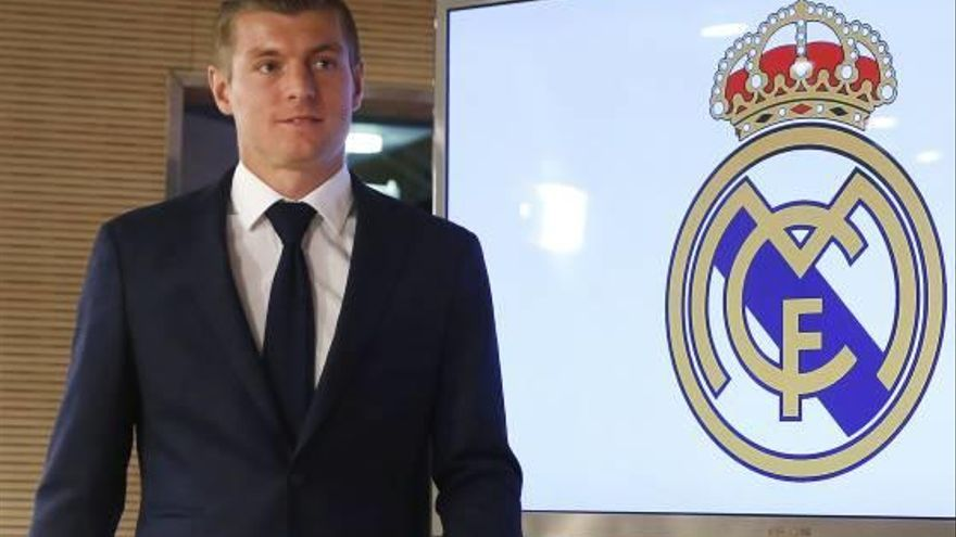 Toni Kroos El jugador del Madrid, el alemán mejor pagado del mundo