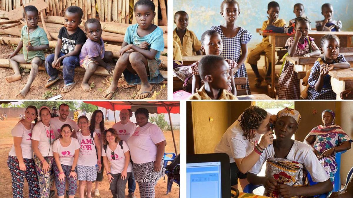 Amor en Acció lleva su ayuda desde Burriana a Costa de Marfil